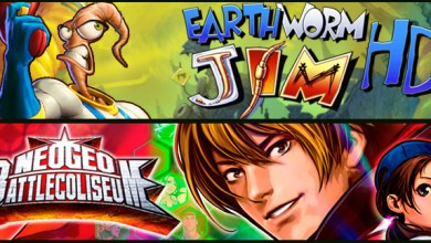 Photo of Lançamentos Live Arcade: Earthworm Jim HD e Neogeo Battle Coliseum!