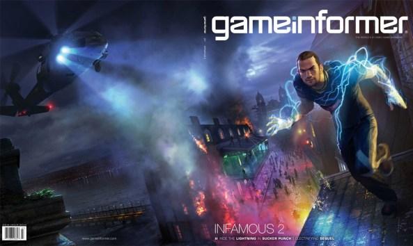 Infamous 2 - Game Informer Julho