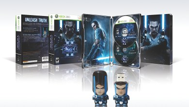 Foto de Star Wars The Force Unleashed II Collector's Edition vem com Pen-Drive cabeção de brinde