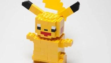 Photo of Temos que montar! Temos que montar! Pokémon feito em Lego é o que há! [PicArt]