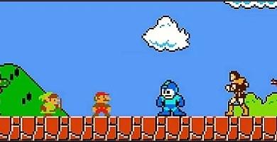 Photo of Jogo em Flash: Super Mario Bros Crossover