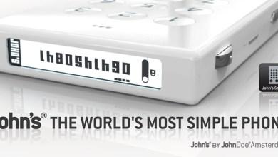 Photo of John's Phone aposta na simplicidade e fica conhecido como… o anti-smartphone?! [Tecnologia]