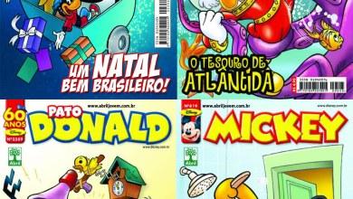 Photo of HQs Disney: Capas e as primeiras informações das edições mensais de Dezembro/2010!