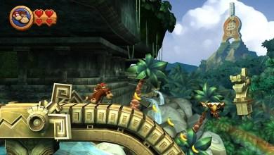 Foto de Donkey Kong Country Returns: Diddy e Donkey Kong voltaram a selva sem suas bananas?