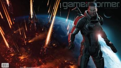 Foto de Mass Effect 3 na capa da Game Informer! (+ Filme animado de Mass Effect)