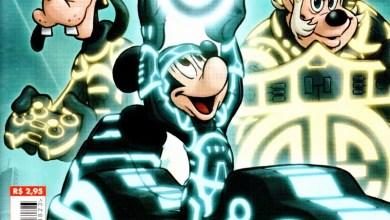 Foto de Destaque de Mickey nº 823 é HQ inspirada em Tron! [Prévia em Imagens] [Abril/2011]