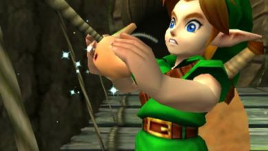 Foto de Link, Zelda, Hyrule (e… Ganondorf?) mais lindos do que nunca em Ocarina Of Time 3D! [3DS]