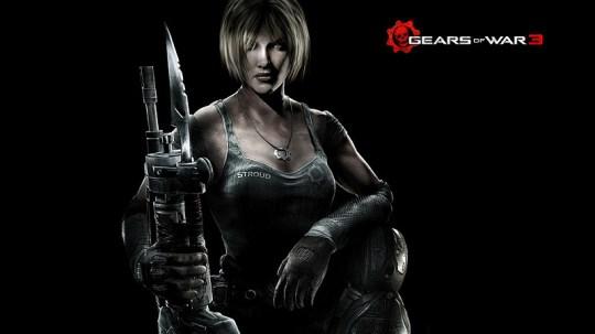 Gears Of War 3 - Anya Stroud