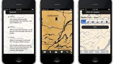 Photo of Perdido no mundo gigantesco de Skyrim? Hey, logo você terá um app para isso: Dragon Shout! (iOS)