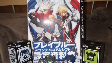 Photo of Dia de correio: artbook e pixtones! (BlazBlue)