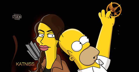 Simpsons - Jogos Vorazes