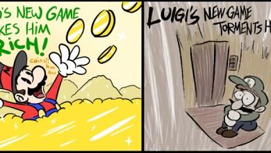 Photo of A distorção de realidades entre Mario e Luigi…