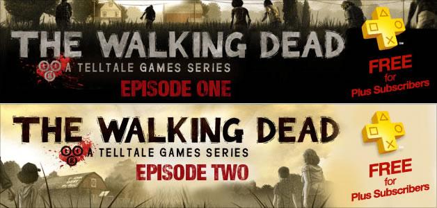 The Walking Dead PlayStation Plus