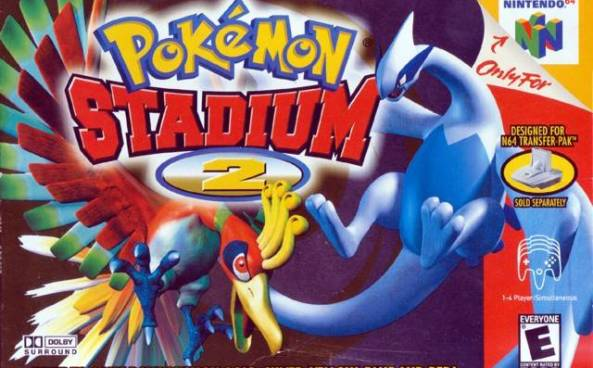 Pokemon Stadium-cover game/top game n64
