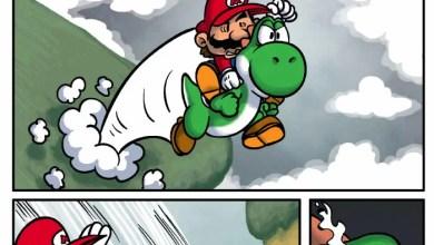 Photo of Postando uma tirinha só porque curti… Mario & Yoshi