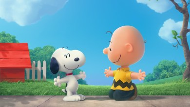 Foto de Charlie Brown e Snoopy nos cinemas em 2015!