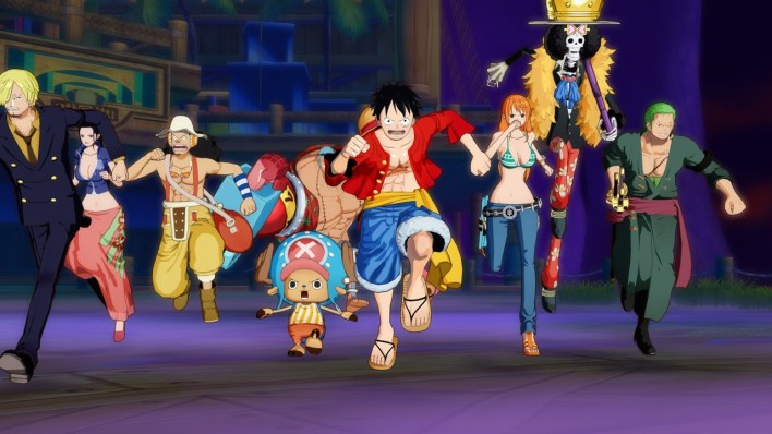 One Piece Unlimited World Red grupo