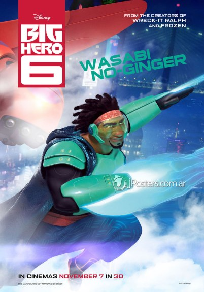 Big Hero 6 Wasabi No-Ginger