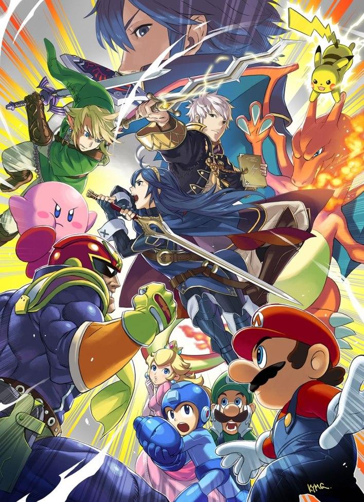 Super Smash Bros 2014