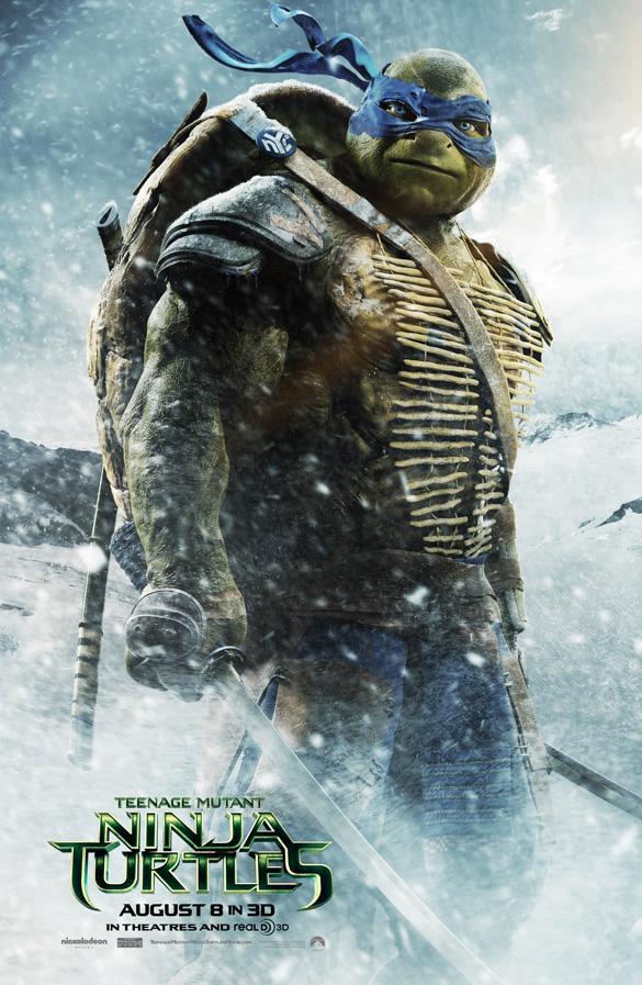 Tartarugas Ninjas 2014 - Leonardo