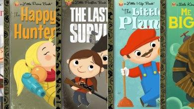 Photo of E se famosos games fossem livros infantis?