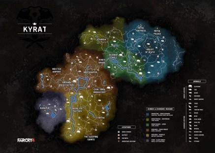 Far Cry 4 - Mapa