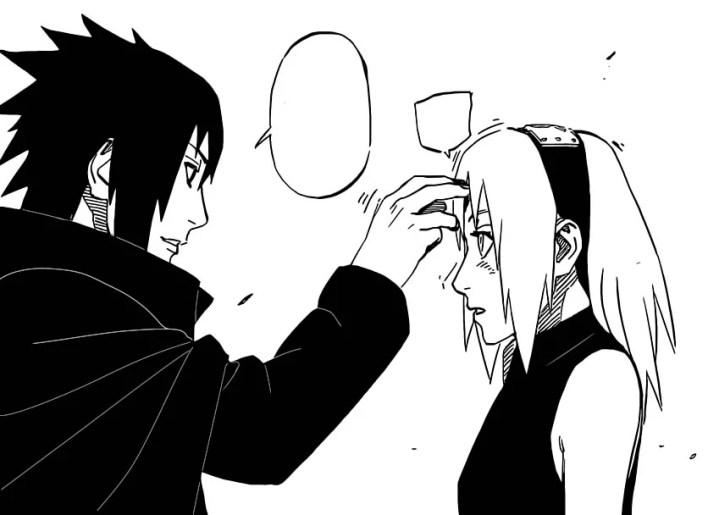 Naruto 699 - Sasuke e Sakura