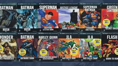 Photo of Aê! Coleção Eaglemoss de Graphic Novels da DC está oficializada!