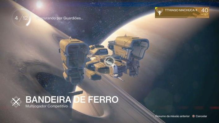 Destiny TTK - Bandeira de Ferro 04