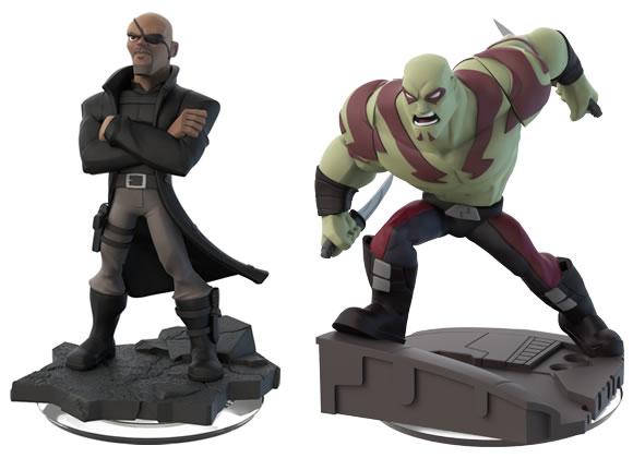 Disney Infinity Drax Nick Fury