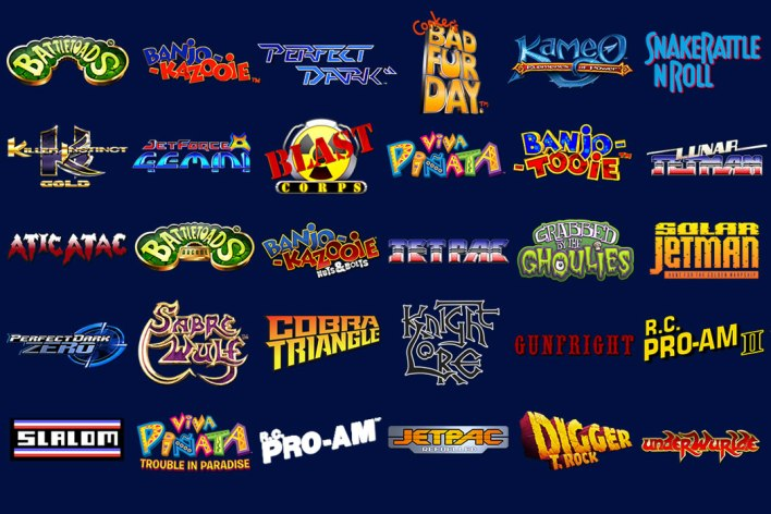 Rare Replay Games