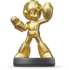 amiibo mega man gold