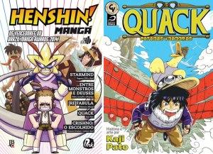 Henshin Manga - Quack Patadas Voadoras