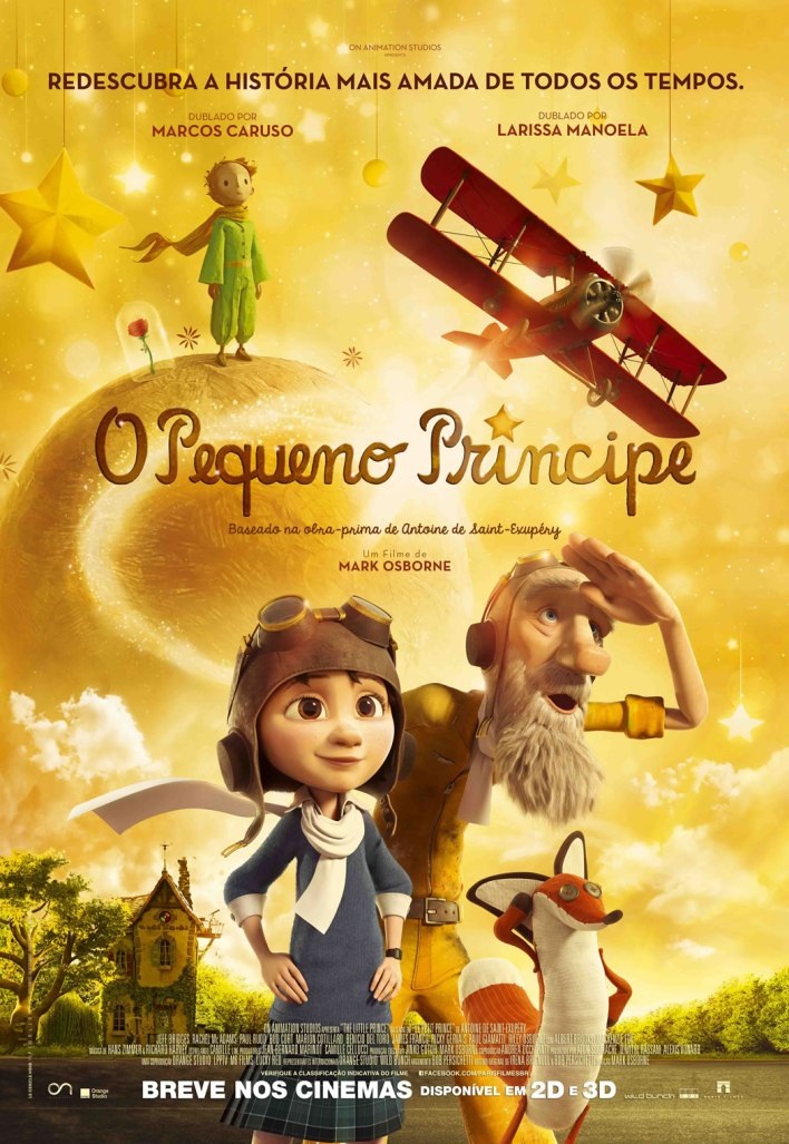O Pequeno Principe Poster 2015