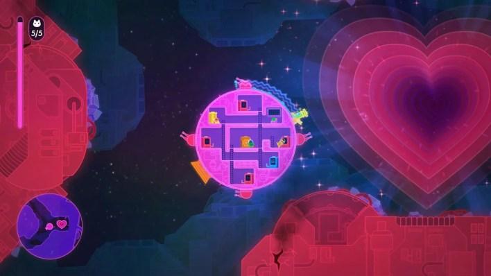 Lovers in a Dangerous Spacetime (4)