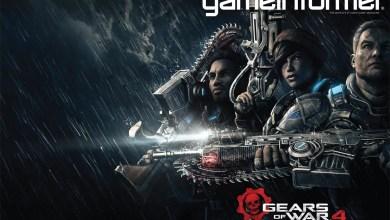Foto de Gears of War 4 | 25 anos no futuro, protagonistas e a capa da Game Informer!