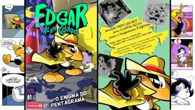 Foto de Exclusivo Social Comics | Edgar Alan Corvo #1 faz sua estreia! (Impressões)