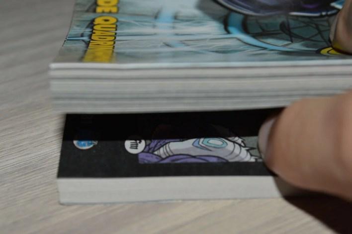 """O tamanho da HQ """"O Raio Negro"""", presente em Disney BIG #38"""