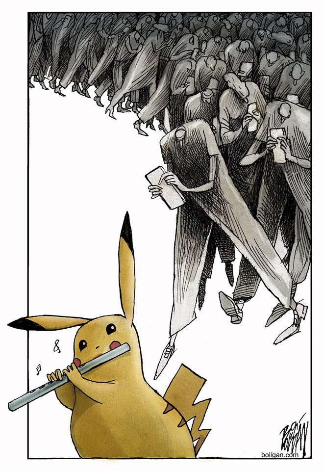 Pokemon Go - Pikachu Flautista