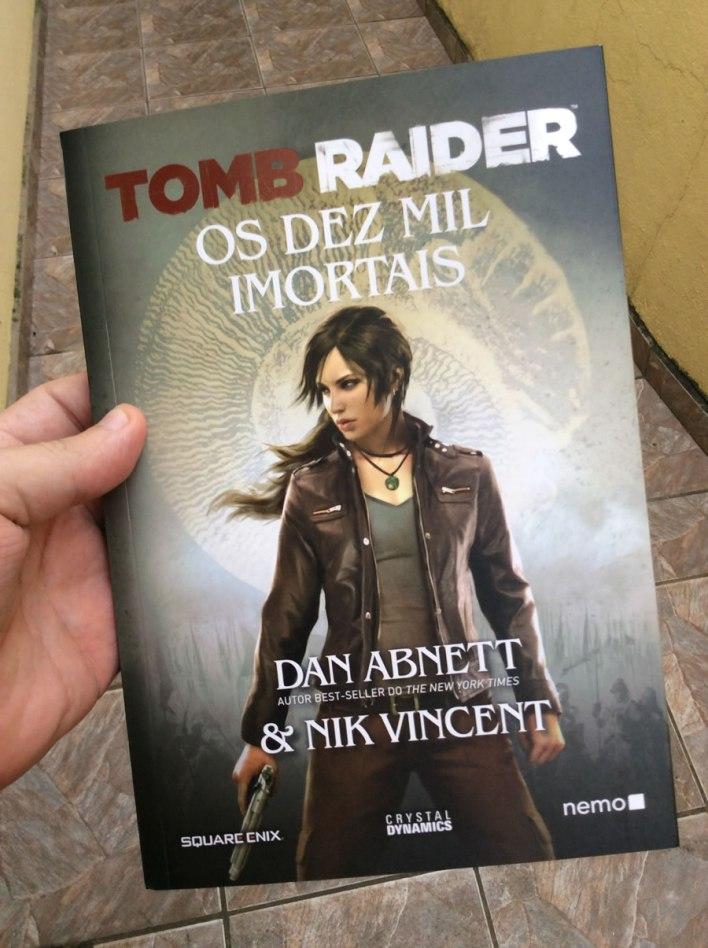Tomb Raider Livro Ed Nemo