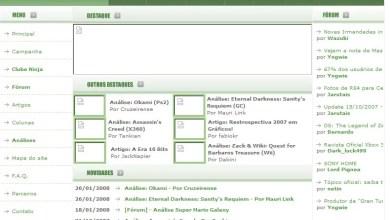 Photo of NGM Online – Site ganha as atualizações do mês! (Fev/2008)