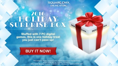 Photo of Caixa Surpresa de Natal da Square Enix tem 7 games misteriosos por 10 dólares