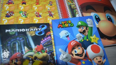 Photo of Galeria | Linha de Cadernos do Super Mario (Volta às Aulas 2017)