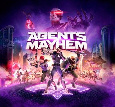 Agents of Mayhem KEYART