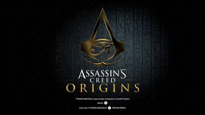 new assassins creed origins logo