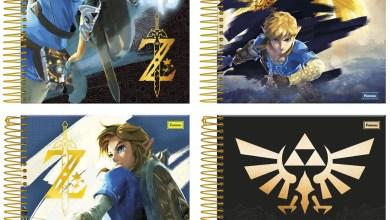Photo of Foroni lançará cadernos de The Legend of Zelda na CCXP 2017