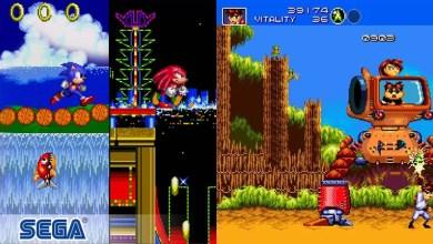 Foto de Sonic The Hedgehog 2 e Gunstar Heroes estão disponíveis na coleção SEGA Forever