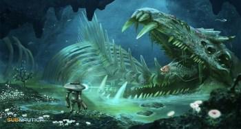 Subnautica - Lost River Skeleton