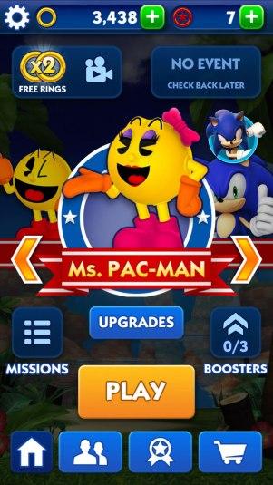 Pac-Man x Sonic Dash 002