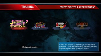 street-fighter-30th-anniversary-collection-sf30-training-screen